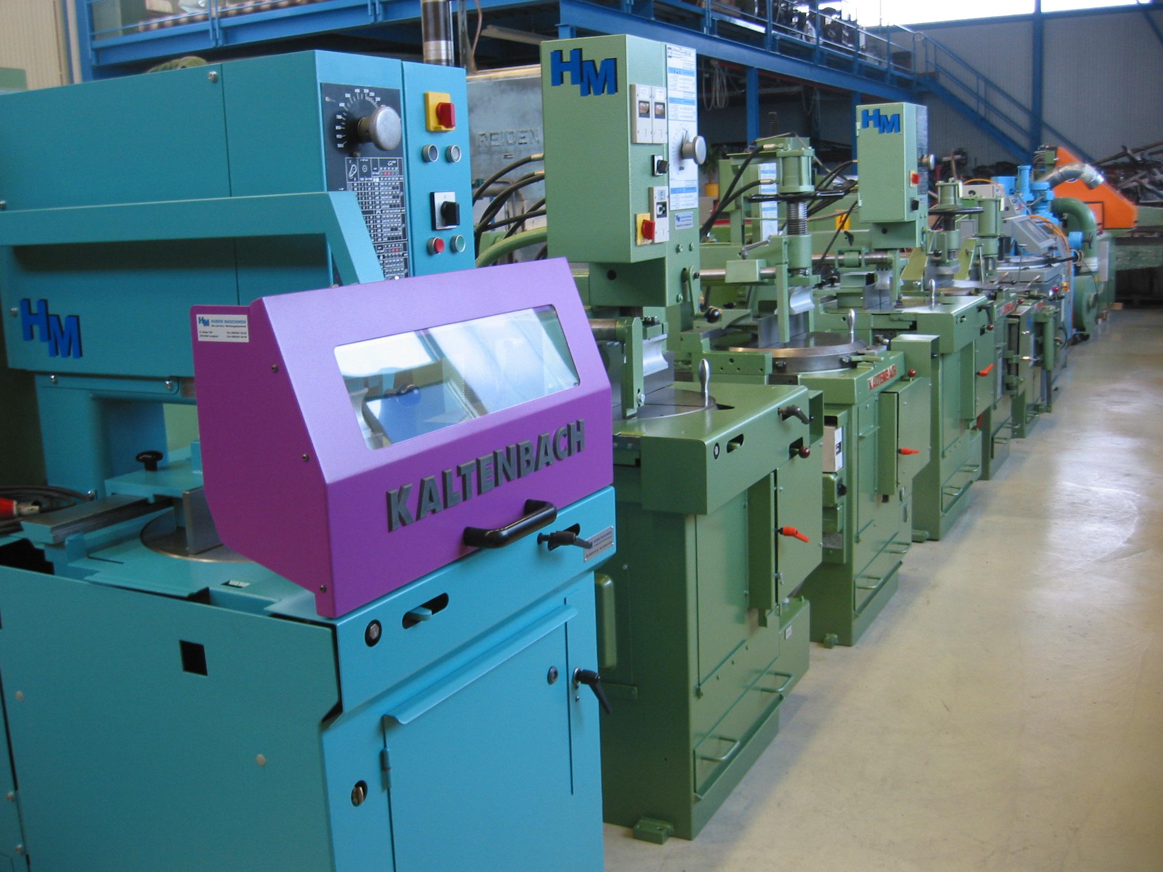 Kaltenbach Kreissäge, Maschinenhandel, Occasionsmaschinen